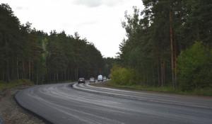 Объездная дорога в Барнауле.