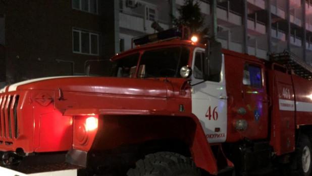 Пожарные в Белокурихе.