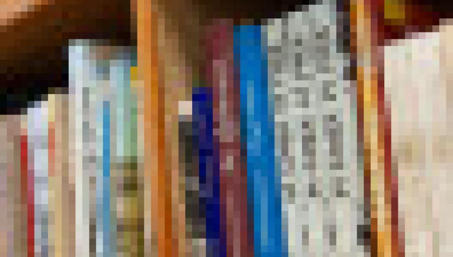 Книги в детской библиотеке им. Крупской