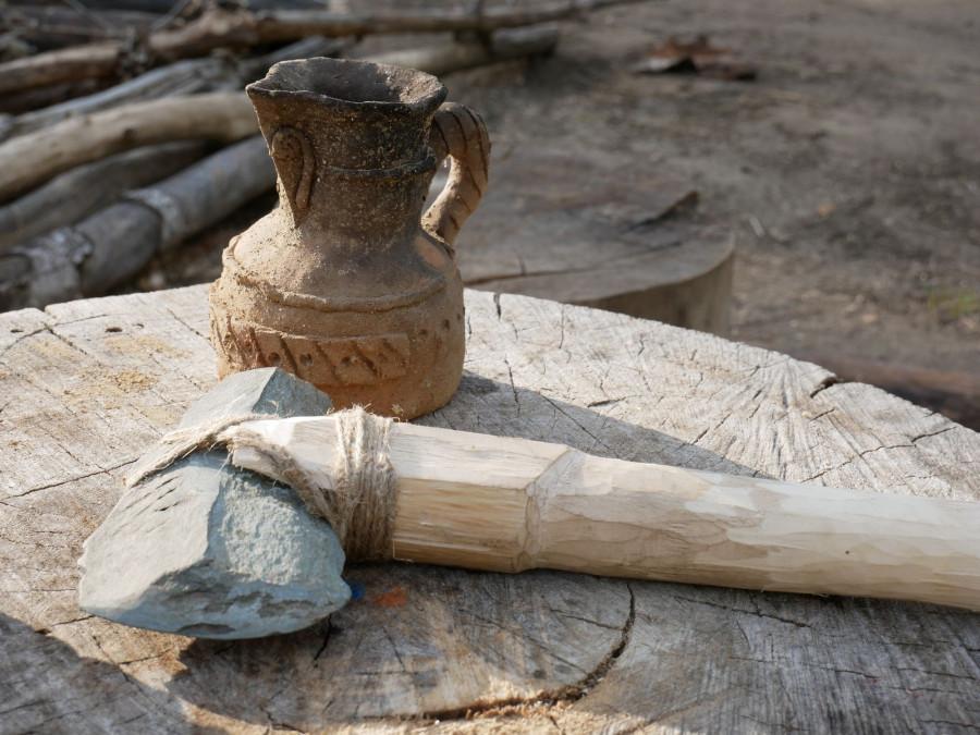 Находки алтайских археологов.