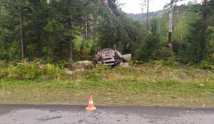 Авария в Турочакском районе.