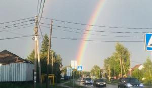 Радуга в Барнауле.