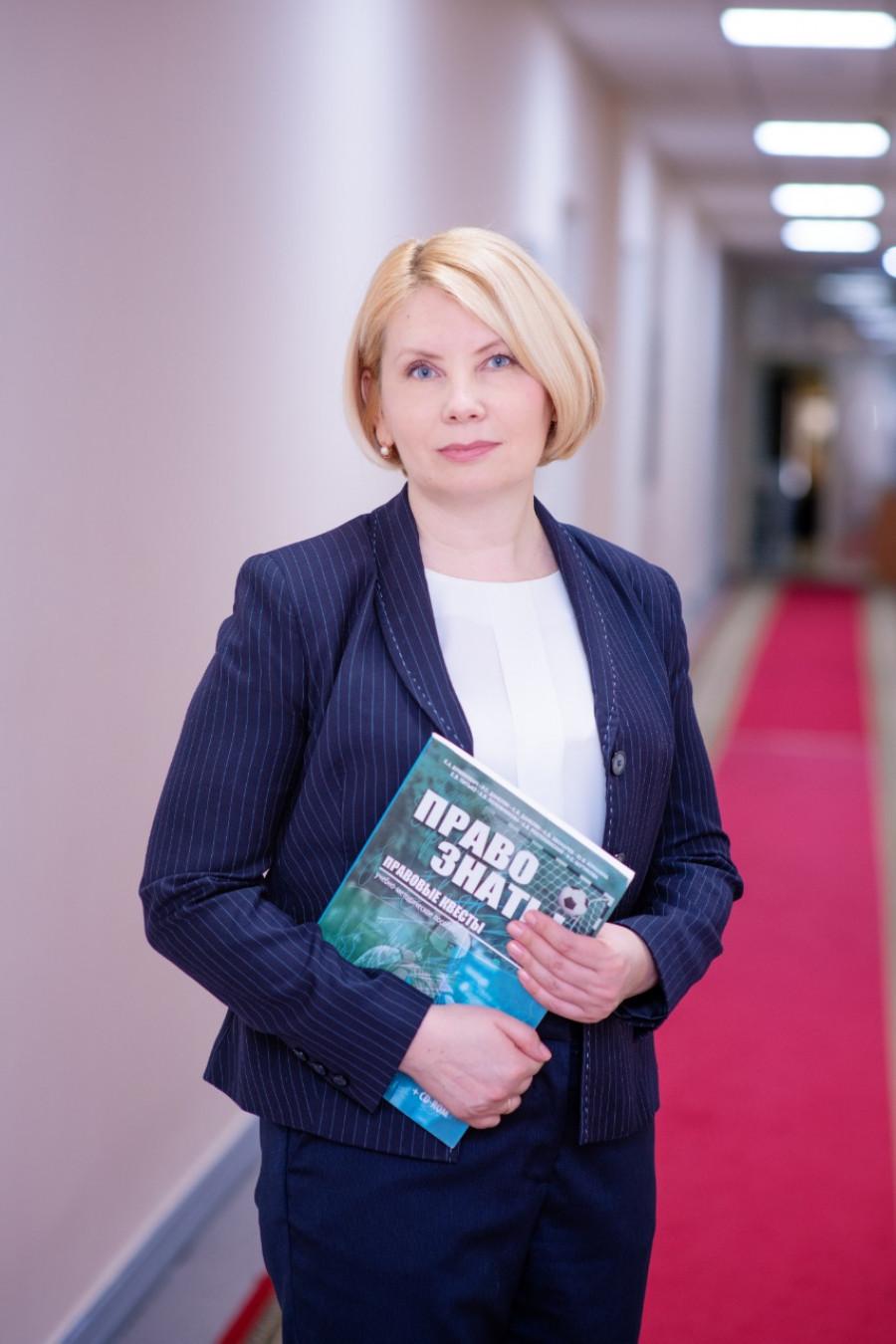 Ольга Казанцева, уполномоченный по правам ребенка в Алтайском крае.