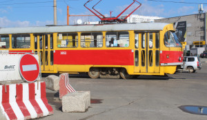 Реконструкция улицы Попова.