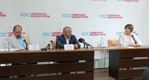 Пресс-конференция Владимира Попова.