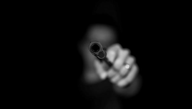 Пистолет. Оружие.