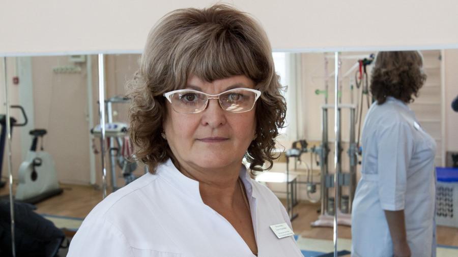 Елена Воранкова, врач ЛФК.