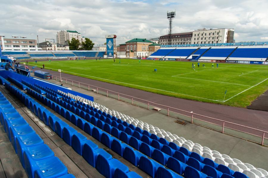 """Первый домашний матч """"Динамо-Барнаул"""" в сезоне 2020-2021гг."""