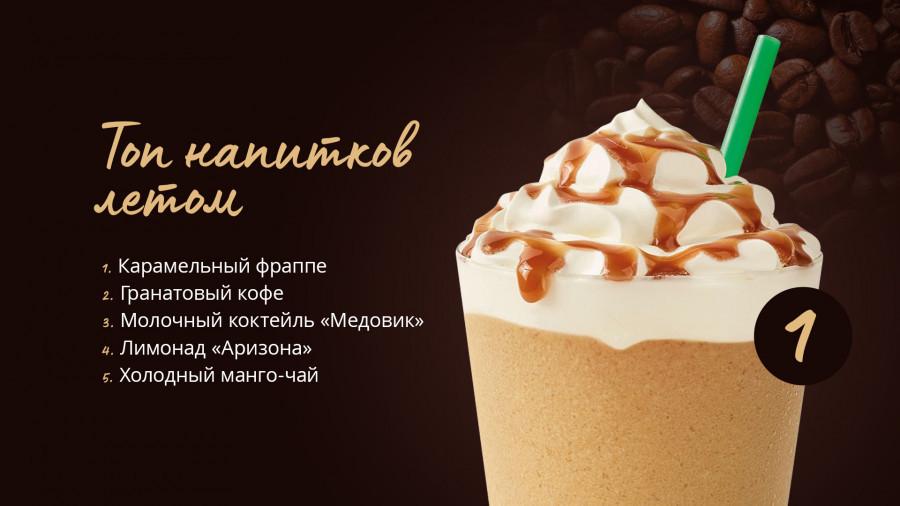 Топ напитков по версии одной из барнаульских кофеен.