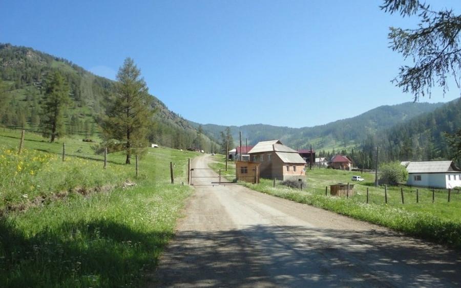 База отдыха в Онгудайском районе.