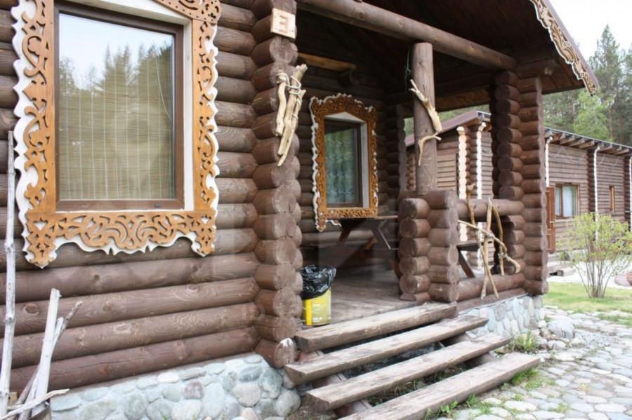 Сказочная база в Чемальском районе.