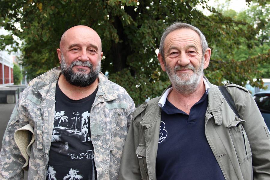 Николай Крымов и Виктор Петров.