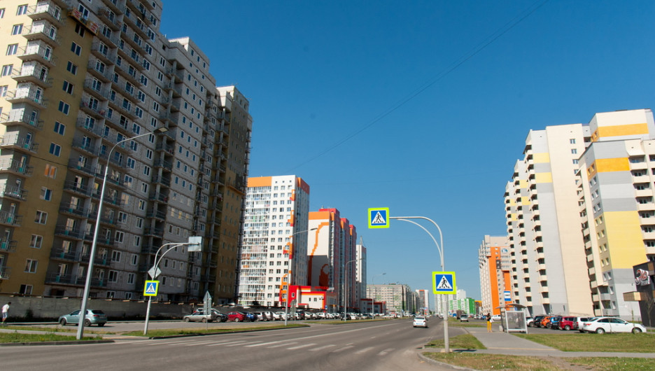 Работы по строительству участка улицы Сиреневой.