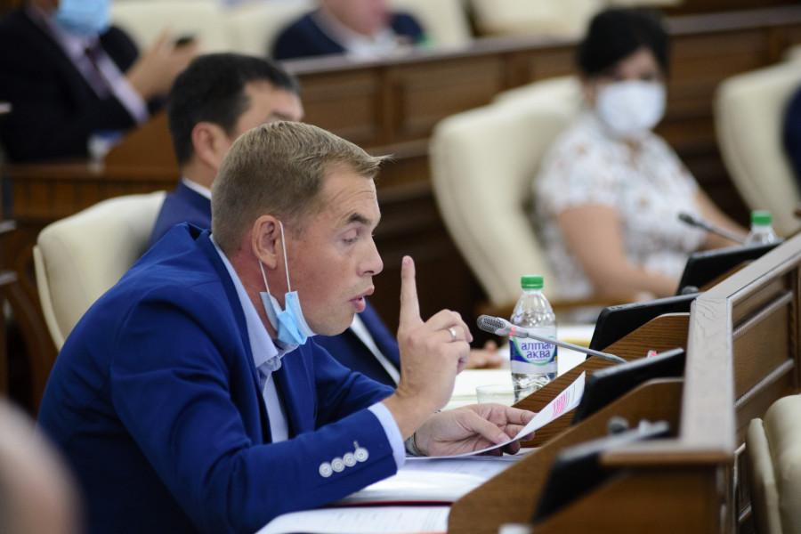 Сессия АКЗС 27 августа 2020 года. Александр Молотов.
