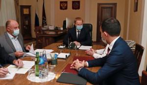 Правительство Алтайского края и Сибирский Сбербанк провели рабочую встречу