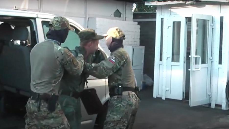 Задержание военного в Барнауле за госизмену.