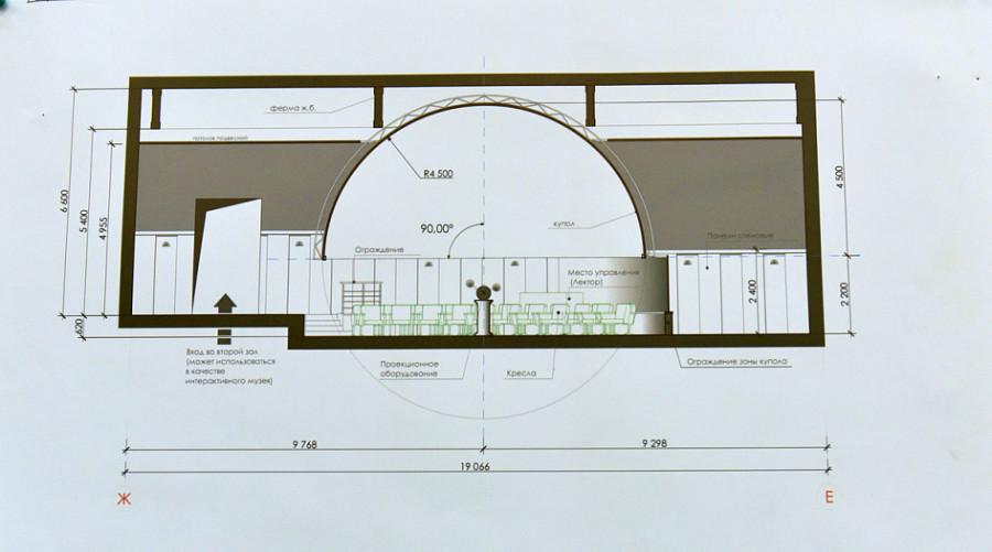 Барнаульский планетарий переезжает в здание бывшего кинотеатра «Родина».