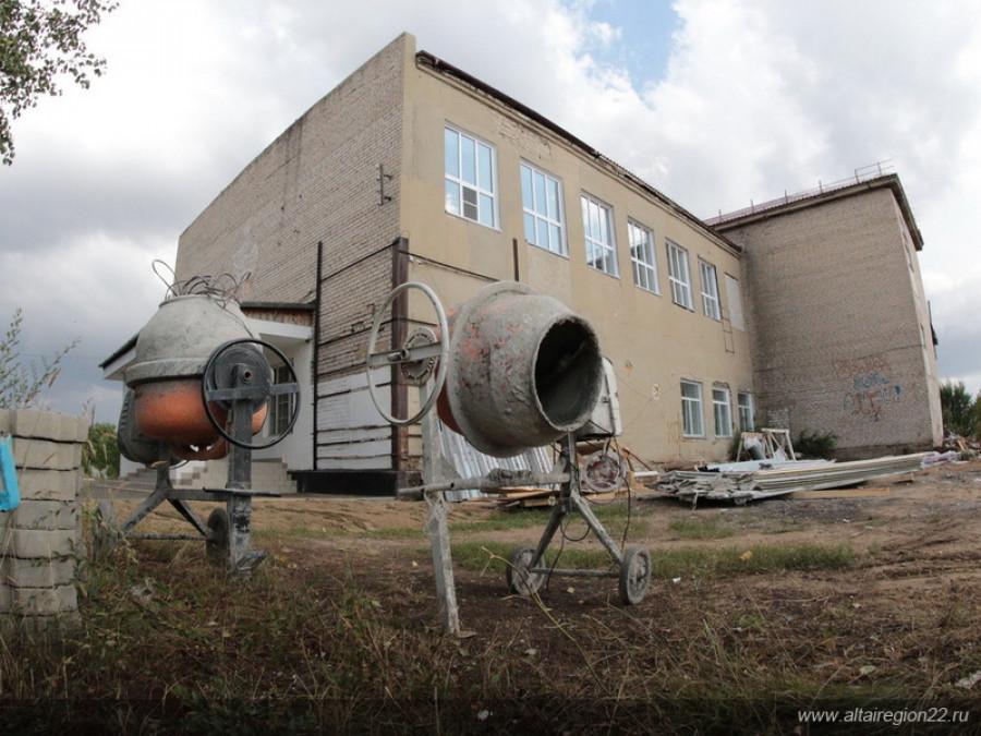Ремонт школы №5 в Кулундинском районе