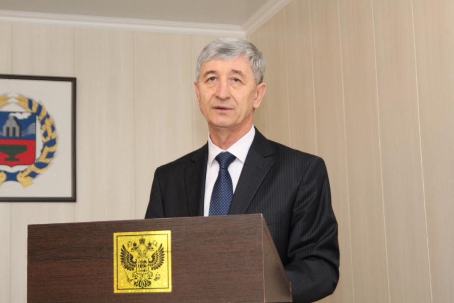 Глава Кулундинского района Сергей Балухин