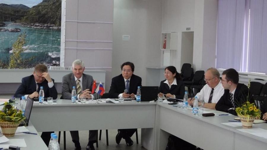 Переговоры с делегацией китайской компании Harbin Electric International Company Limited о строительстве КЭС в Алтайском крае.