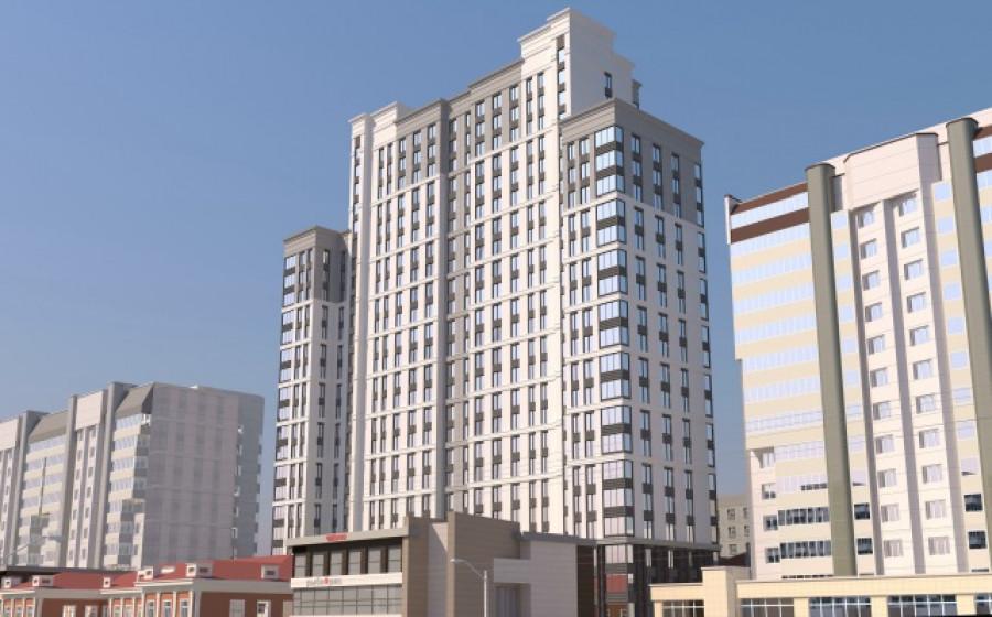 Проект высотного дома на Красноармейском, 61 б.