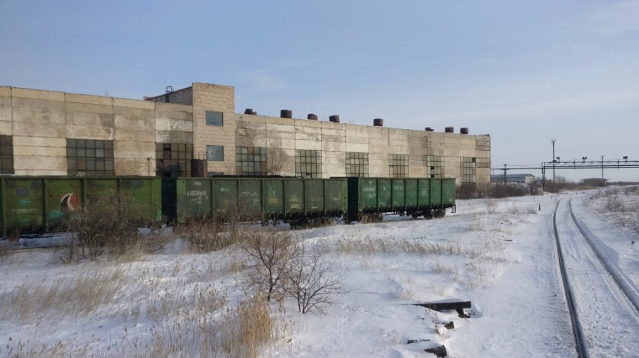 Уголь на ТЭЦ Ярового.
