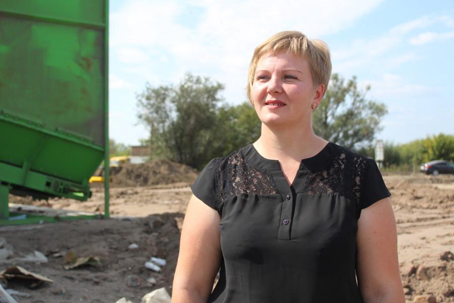 Юлия Беккер, заведующая отделом ЖКХ и транспорта Рубцовского района.