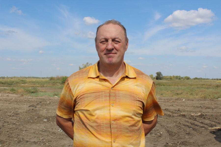 Сергей Пачуев, руководитель мусороперерабатывающего комплекса в Рубцовске.