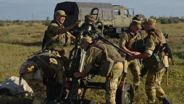 Алтайские военные.