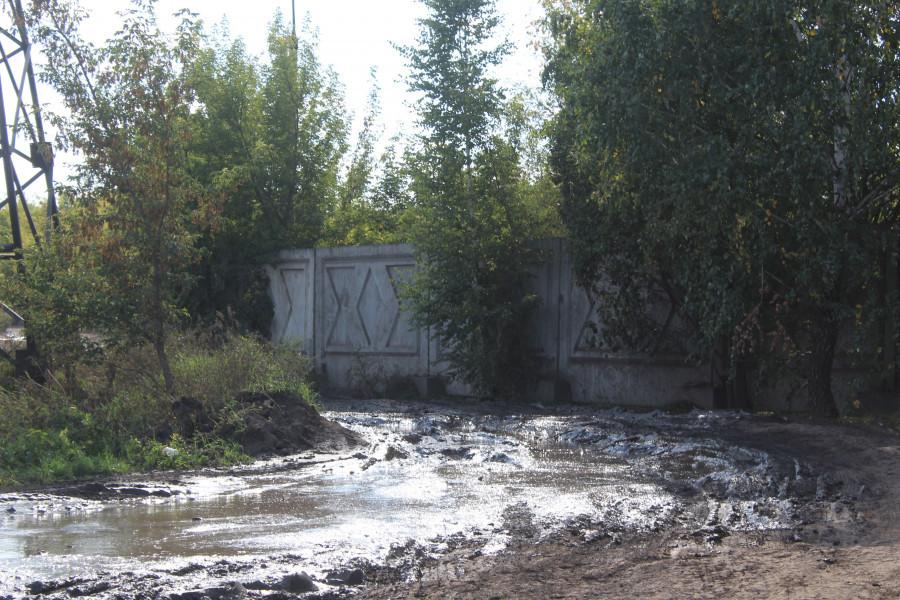 Разбитый проспект Энергетиков.