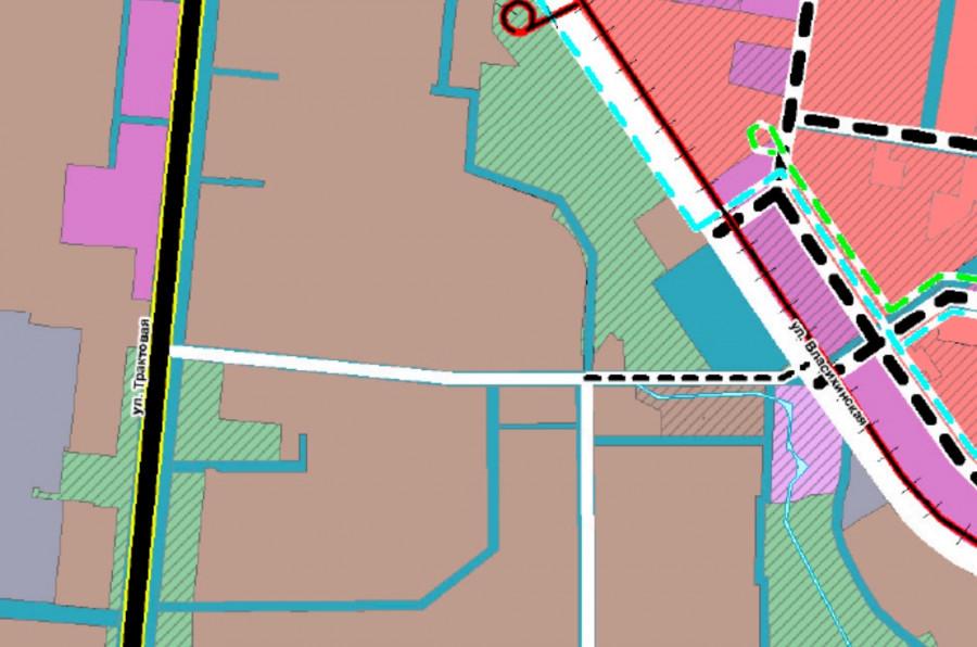 Скрин. Проспект Энергетиков на карте планируемого размещения автомобильных дорог и объектов транспортной инфраструктуры местного значения.