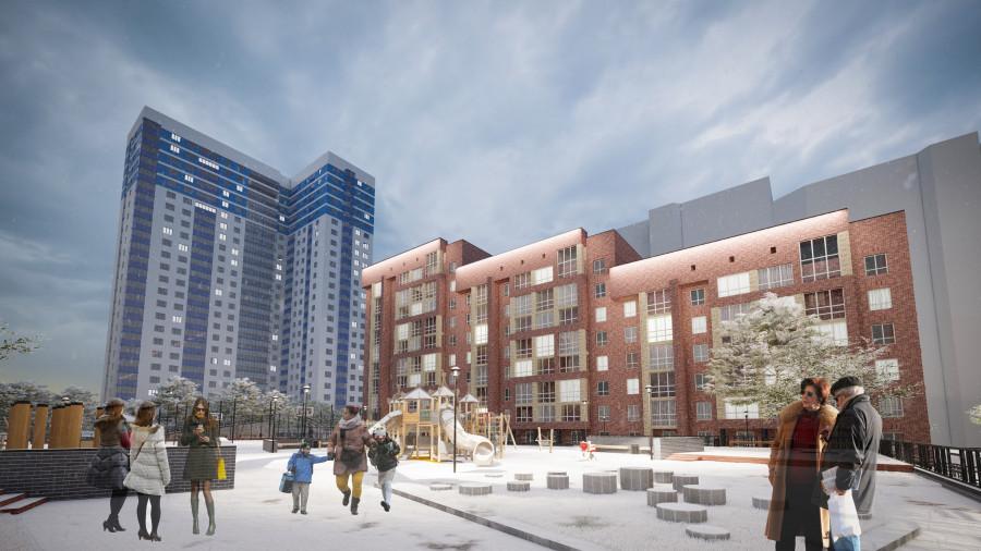 """""""Адалин"""" построит новый жилой комплекс в центре Барнаула."""