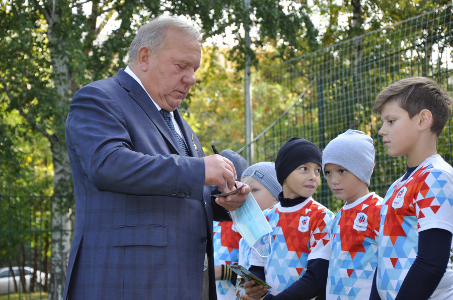 9 и 10 сентября Барнаул посетил Герой России, генерал Владимир Шаманов.