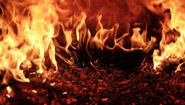 Пожар. Огонь. Пламя.