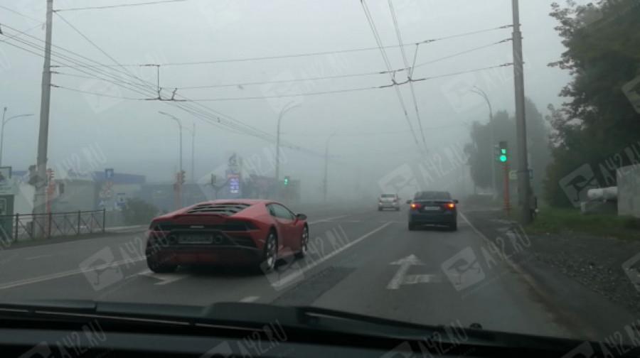 Lamborghini в Кемерове.