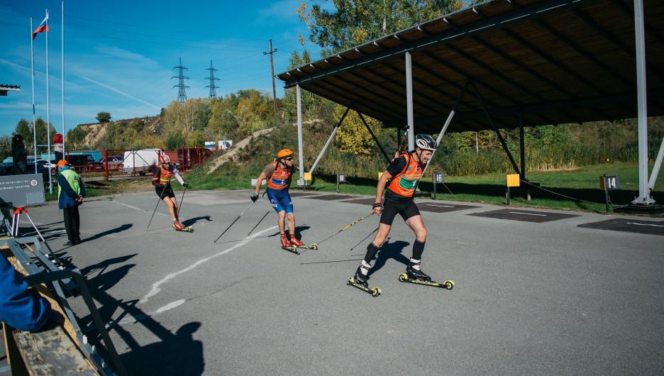 Ветеранский чемпионат страны по летнему биатлону.