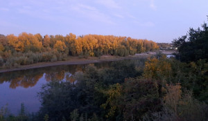 Вид на Ковш со стороны ул. Короленко в Барнауле.