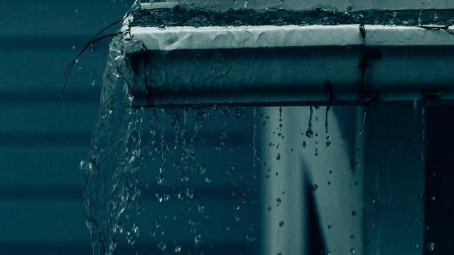 Осень, дождь.