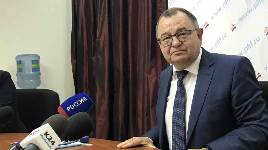Борис Трофимов, управляющий отделением ПФР по Алтайскому краю.