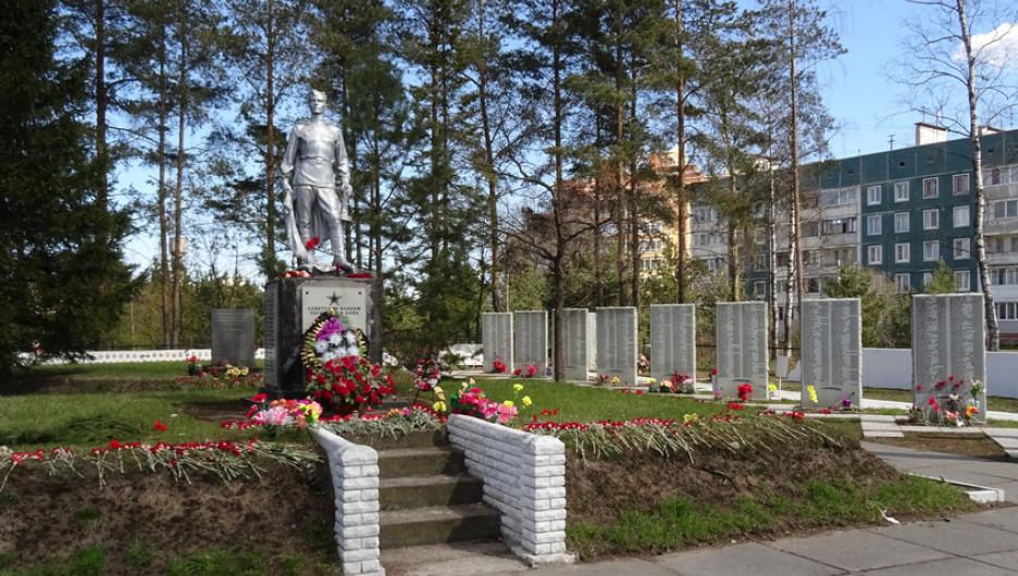 Мемориальный комплекс «Синявинские высоты». Здесь захоронено около 30 тысяч защитников Ленинграда изо всех регионов России и Ближнего зарубежья.