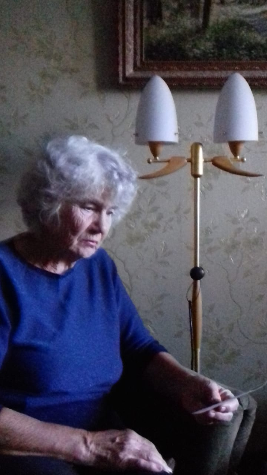 Дочь Людмила Антоновна Предыбайло (Бавыкина) собирается на первое и последнее свидание с отцом.