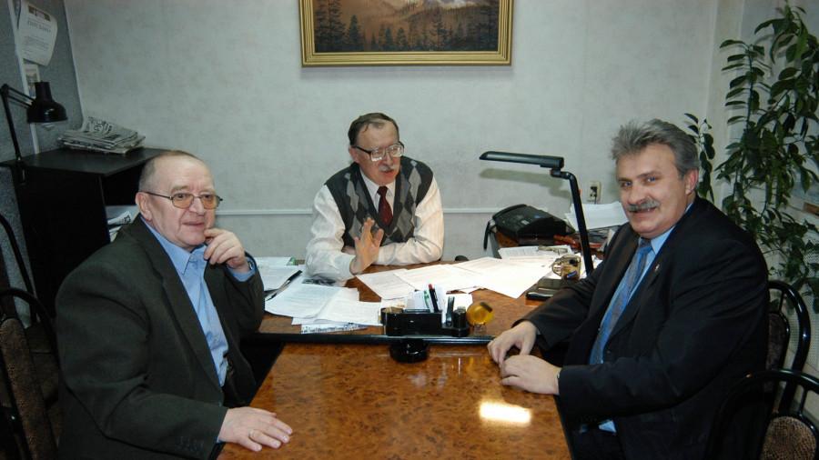 Константин Емешин (слева) и Алексей Сарычев (справа).