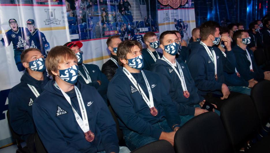 "Презентация команды ""Динамо-Алтай"" сезона 2020-2021 годов."