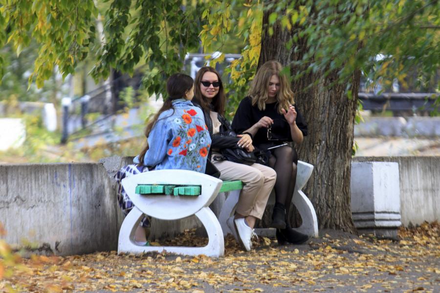 Благоустройство в парке «Изумрудный».