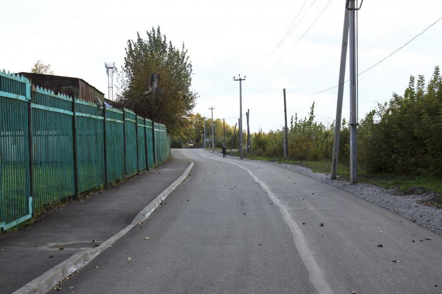 Ремонт дорог в микрорайоне Затон.