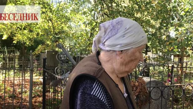 Мать погибшего Сергея Захарова.