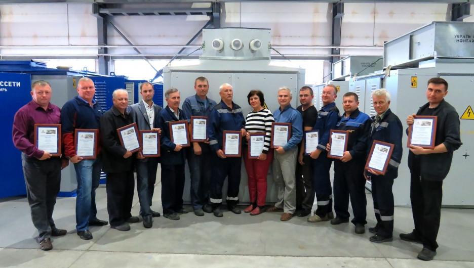 Коллектив Алтайского трансформаторного завода,  внесший значительный вклад в производство КТП