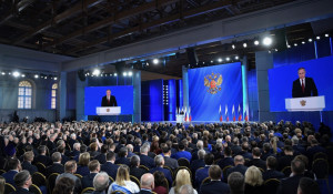 Владимир Путин. Послание Федеральному собранию.