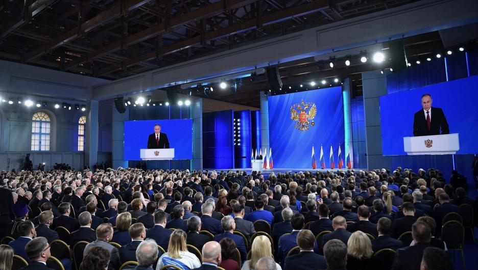 Вновь 22 апреля.Послание Путина запланировали надень рождения Ленина, как поправки к Конституции