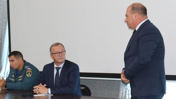 Александр Макаров, Игорь Степаненко и Михаил Плешивцев.